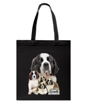 Saint Bernard Awesome Family 0701 Tote Bag thumbnail