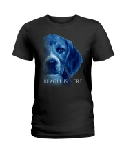 Beagle Is Here Ladies T-Shirt tile