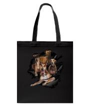Greyhound Scratch Tote Bag thumbnail