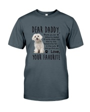 Maltese Dear Daddy 0510 Classic T-Shirt thumbnail