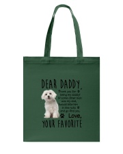 Maltese Dear Daddy 0510 Tote Bag thumbnail