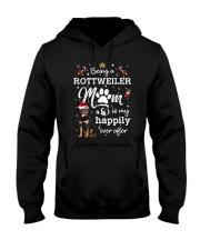 Being a rottweiler mom 1810 Hooded Sweatshirt thumbnail