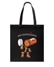 Dachshund Anti Tote Bag thumbnail