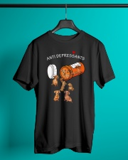 Dachshund Anti Classic T-Shirt lifestyle-mens-crewneck-front-3