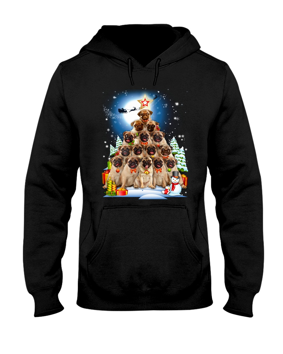 Pug Pine 210818 Hooded Sweatshirt