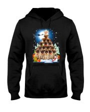 Pug Pine 210818 Hooded Sweatshirt front