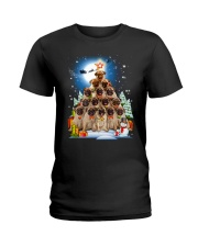Pug Pine 210818 Ladies T-Shirt thumbnail