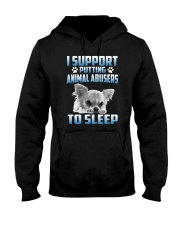 SUPPORT CHIHUAHUA  Hooded Sweatshirt thumbnail