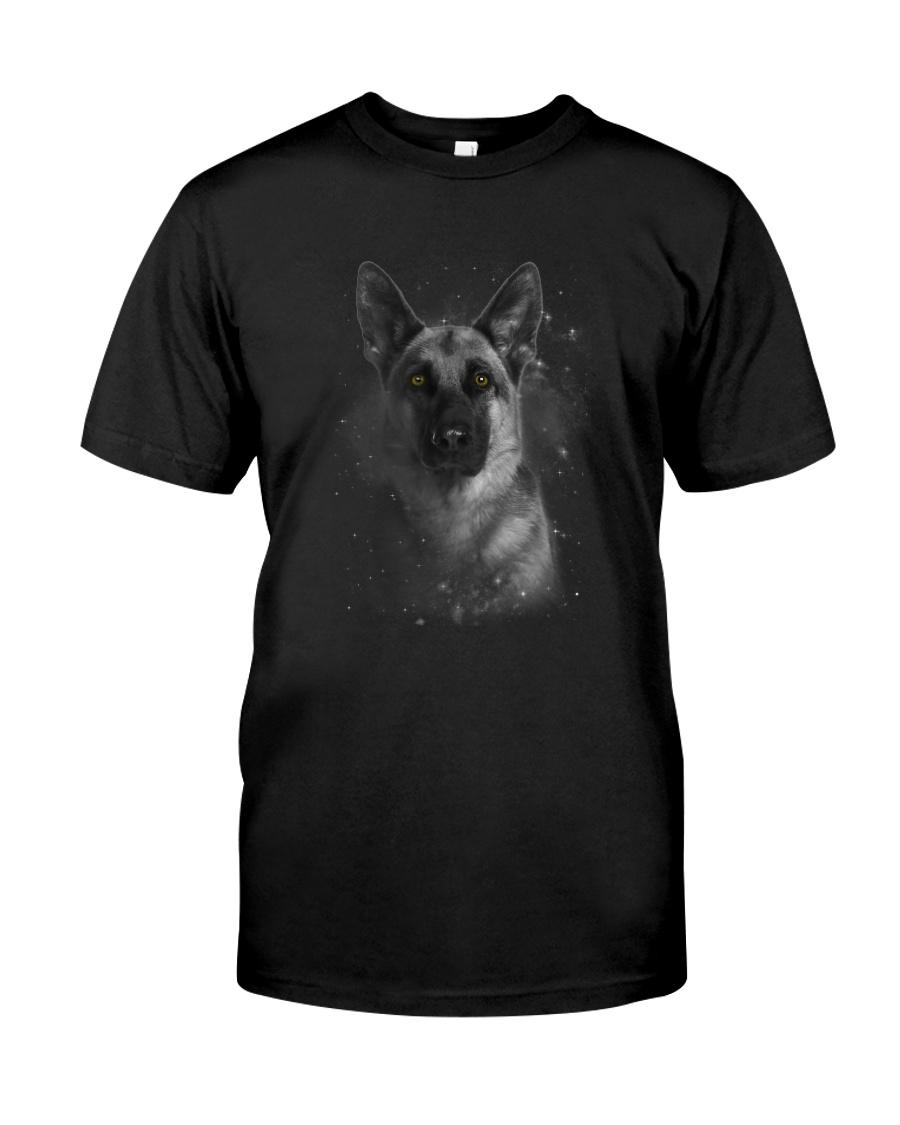 German Shepherd Half Face 2609 Classic T-Shirt