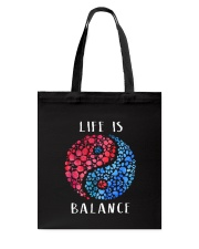 Wine And Dogs Balance Tote Bag thumbnail