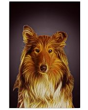 Collie Fractal 1512 11x17 Poster front