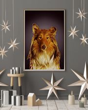 Collie Fractal 1512 11x17 Poster lifestyle-holiday-poster-1