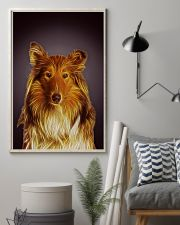 Collie Fractal 1512 11x17 Poster lifestyle-poster-1