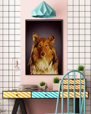 Collie Fractal 1512 11x17 Poster lifestyle-poster-6