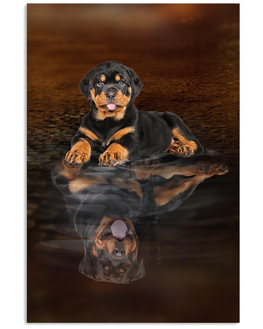 Rottweiler Believe 11x17 Poster