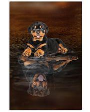 Rottweiler Believe 11x17 Poster front