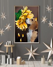 English Foxhound Sunflower 11x17 Poster lifestyle-holiday-poster-1