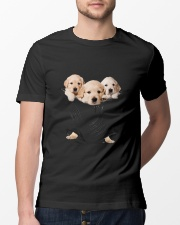 Labrador Retriever Scratch Cute Classic T-Shirt lifestyle-mens-crewneck-front-13