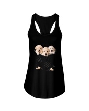 Labrador Retriever Scratch Cute Ladies Flowy Tank thumbnail