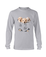 Labrador Retriever Scratch Cute Long Sleeve Tee thumbnail