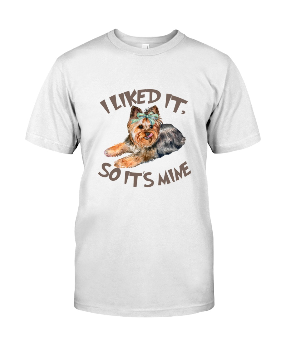 Yorkshire Terrier I licked it 180319  Classic T-Shirt