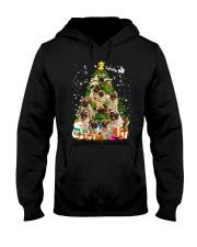 ZEUS - Pug Pine Tree - 1610 - 03 Hooded Sweatshirt front