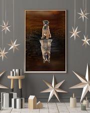 Belgian Shepherd Believe 11x17 Poster lifestyle-holiday-poster-1