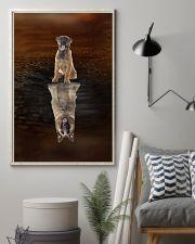 Belgian Shepherd Believe 11x17 Poster lifestyle-poster-1