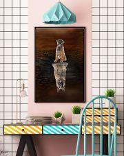 Belgian Shepherd Believe 11x17 Poster lifestyle-poster-6