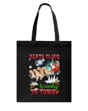 Golden Retriever is coming Tote Bag thumbnail