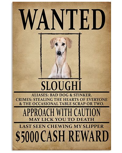 Sloughi Wanted Poster 2201