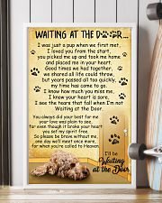 Cockapoo Waiting at the Door 11x17 Poster lifestyle-poster-4