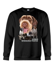 German Wirehaired Pointer Awesome Family 0701 Crewneck Sweatshirt thumbnail
