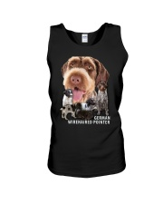 German Wirehaired Pointer Awesome Family 0701 Unisex Tank thumbnail