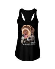 German Wirehaired Pointer Awesome Family 0701 Ladies Flowy Tank thumbnail