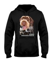 German Wirehaired Pointer Awesome Family 0701 Hooded Sweatshirt thumbnail