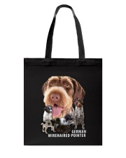German Wirehaired Pointer Awesome Family 0701 Tote Bag thumbnail