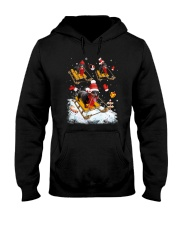Dachshund Skiing Hooded Sweatshirt thumbnail