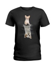 Chihuahua Dreaming Ladies T-Shirt tile