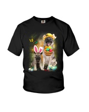 Norwegian Elkhound Happy Easter Day 2601  Youth T-Shirt thumbnail