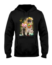 Norwegian Elkhound Happy Easter Day 2601  Hooded Sweatshirt thumbnail