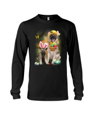 Norwegian Elkhound Happy Easter Day 2601  Long Sleeve Tee thumbnail