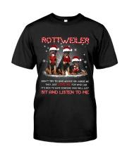 Rottweiler Listen To Me Classic T-Shirt thumbnail