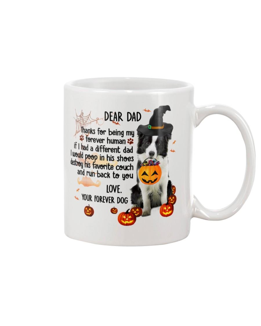 Border Collie - Dear dad Mug
