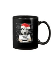 Siberian Husky Xmas Tree Mug thumbnail
