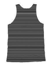 Portuguese Water Dog Striped New All-over Unisex Tank back