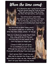 Belgian Malinois The Time Comes Poster 2301 11x17 Poster front