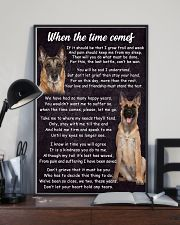Belgian Malinois The Time Comes Poster 2301 11x17 Poster lifestyle-poster-2