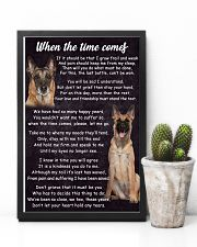 Belgian Malinois The Time Comes Poster 2301 11x17 Poster lifestyle-poster-8