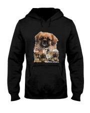 Tibetan Spaniel Awesome Family 0701 Hooded Sweatshirt tile